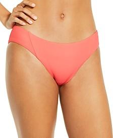 Ribbed Hipster Bikini Bottoms