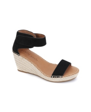 by Kenneth Cole Charli Ankle Strap Wedge Sandals Women's Shoes