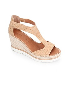 by Kenneth Cole Elyssa Easy T-Strap Wedge Sandals