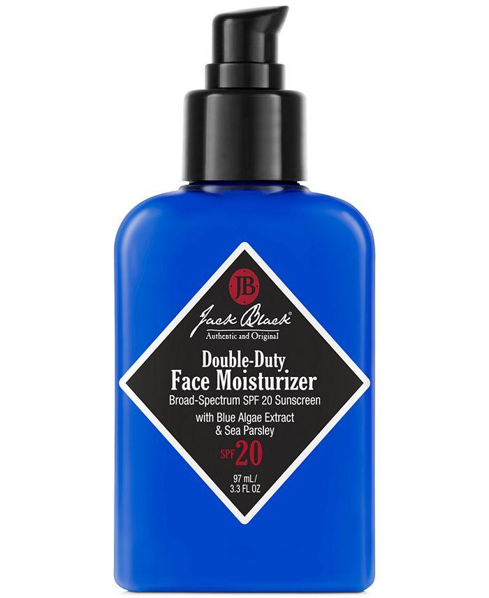 Jack Black - Double-Duty Face Moisturizer SPF 20 with Blue Algae Extract & Sea Parsley, 3.3 oz
