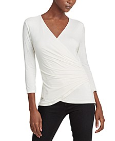 High-Low 3/4- Sleeve Top