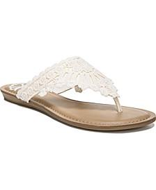 Samba Thong Flat Sandals