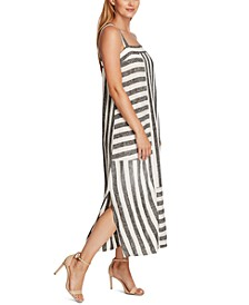 Striped Maxi Dress, In Regular and Petite