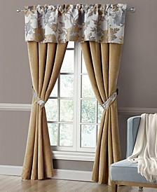 "Jolene 50"" x 84"" Rod Pocket Curtain Set"