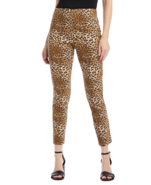 Karen Kane Animal Print Piper Pants