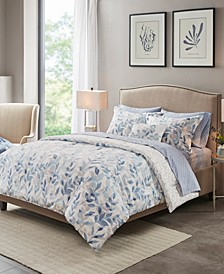 Sofia Reversible 8-Piece Cal King Bedding Set