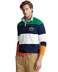 Men's Classic-Fit Rugby Shirt