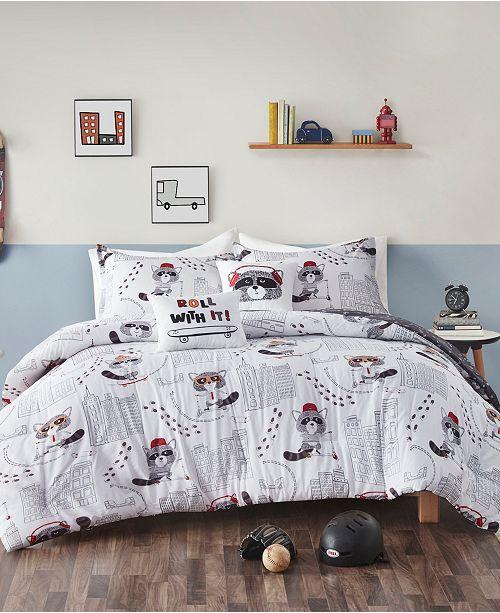 Urban Habitat Cooper 4-Piece Reversible Twin Comforter Set
