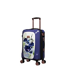 """22"""" Gleaming Hardside Expandable Spinner Suitcase"""