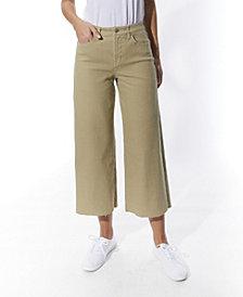 OAT Cropped Wide-Leg Jeans