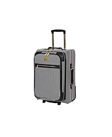 "21"" Prestigious Softside Semi-Expandable Carry-On Suitcase"