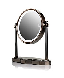 LED Lighted Makeup Mirror, Tabletop Vanity Mirror