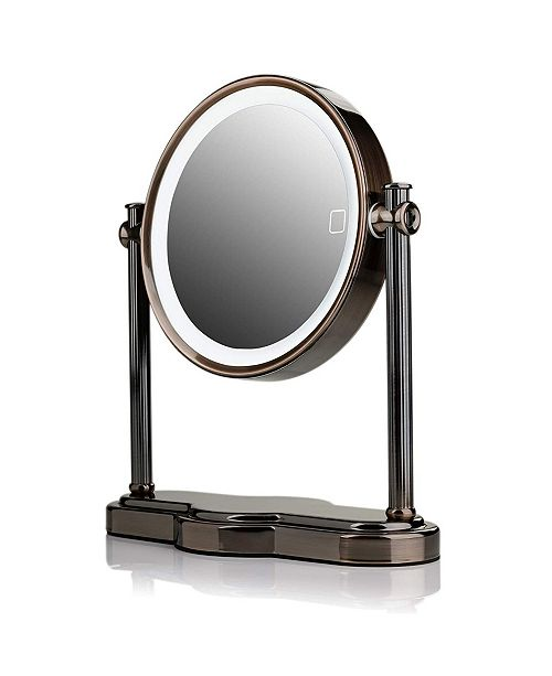 OVENTE LED Lighted Makeup Mirror, Tabletop Vanity Mirror