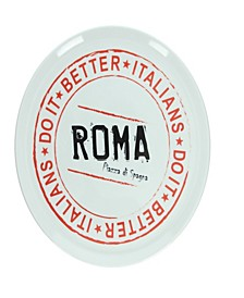 Roma Round Pizza Plate