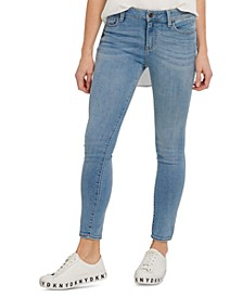 High-Rise Skinny-Fit Ankle Jeans