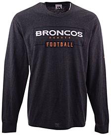 Men's Denver Broncos Box Score FO Long Sleeve T-Shirt