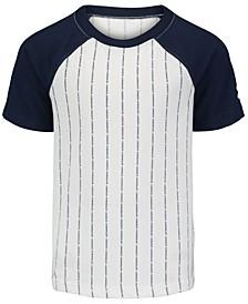 Little Boys Logo-Print Baseball T-Shirt