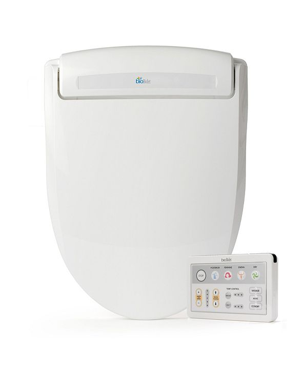 Bio Bidet Supreme BB-1000 Electric Smart Bidet Seat for Round Toilet