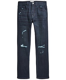 Distressed Denim Slim-Fit Jeans, Big Boys (8-20), Created for Macy's