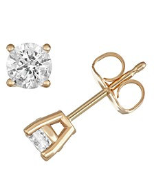 Diamond Stud Earrings (1/2 ct. t.w.) in 14k Gold or White Gold