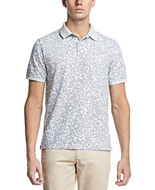 Men's Camo-Print Polo Shirt