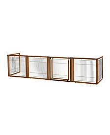 Convertible Elite Pet Gate - 6 Panel