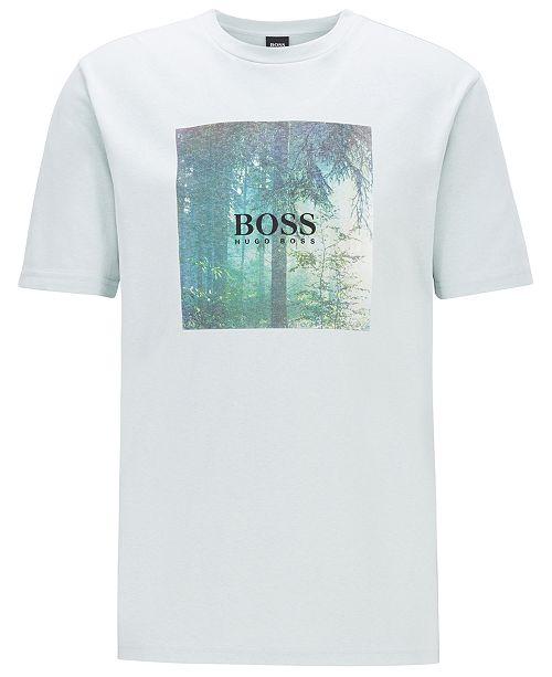 Hugo Boss BOSS Men's TipOff 3 Cotton T-Shirt