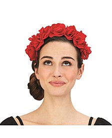 Bed of Roses Flower Headband