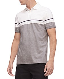 Men's Colorblocked Liquid Touch Polo