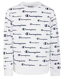Big Boys Script Logo French Terry Sweatshirt