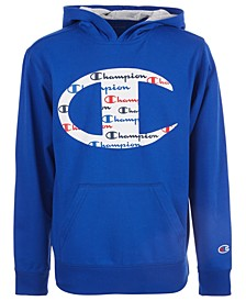 Big Boys C Logo with Script Fill French Terry Hoodie