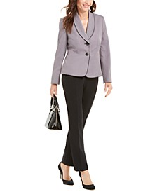 Shawl-Collar Jacket Pantsuit