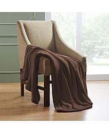 Wrinkle Resistant Plush Fleece Blanket, Full/Queen