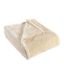 Wrinkle Resistant Plush Fleece Blanket, Twin