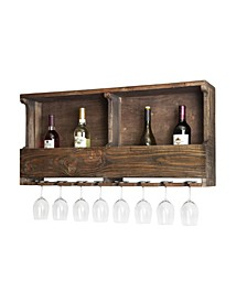 Modesto Reclaimed Wood Wine Rack