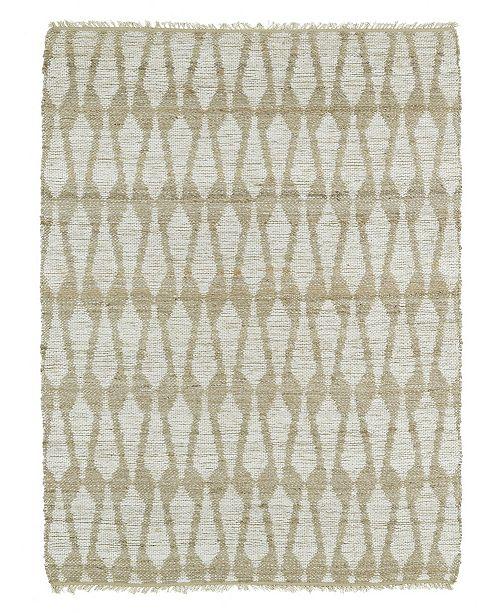 Kaleen Matira Mat01-17 Blue 3' x 5' Area Rug