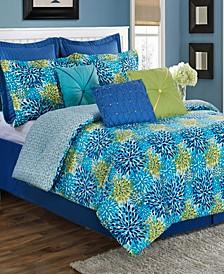 Calypso Garden 3-Piece Twin Comforter Set