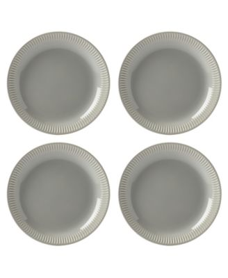Profile Accent Plate Set/4 Grey