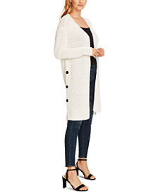 Vince Camuto Button-Side Cardigan