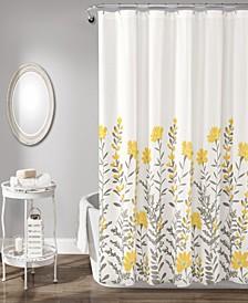 "April 72"" x 72"" Shower Curtain"