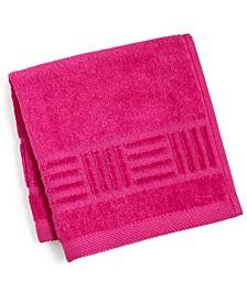 """CLOSEOUT! Basket Weave Cotton 12"""" x 12"""" Wash Cloth"""