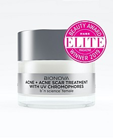 Acne + Acne Scar Treatment with UV Chromophores
