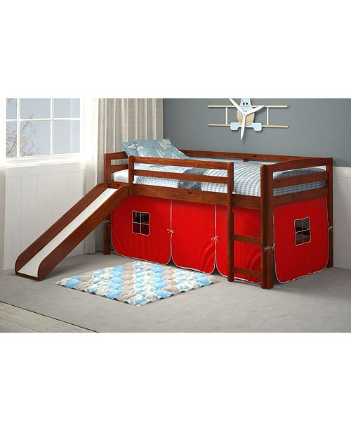 Chelsea Home Furniture Donnine Tent Bed with Slide