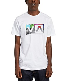 Men's Balance Box Logo Graphic T-Shirt
