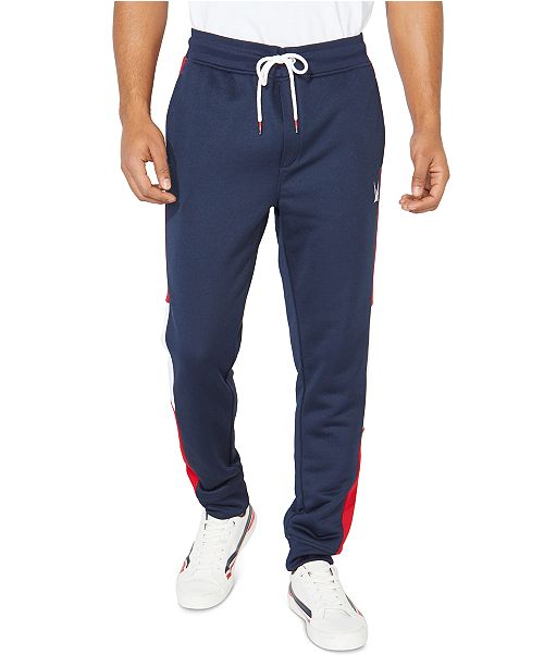 Nautica Men's Striped Track Pants