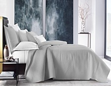 Basic Grid Twin Coverlet, Created for Macy's