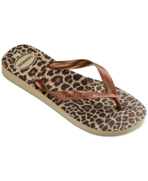 Havaianas Women's Top Animal Flip-Flop Sandals, Created for Macy's Women's Shoes