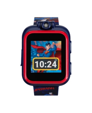 iTouch Kids PlayZoom Dc Comics Superman Strap Touchscreen Smart Watch 42x52mm