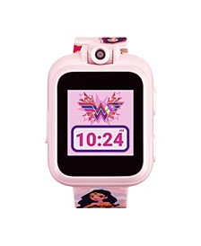 Kids PlayZoom DC Comics Blush Wonder Woman Strap Touchscreen Smart Watch 42x52mm