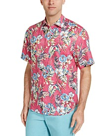 Men's Faded Floral Shirt